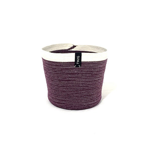 Cotton Pot - Aubergine