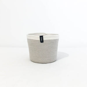 Twig Plants and Pots - Latte concrete indoor plant pot
