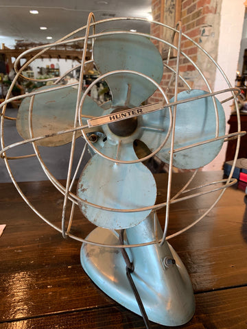 "1950's Hunter tabletop 12"" fan"