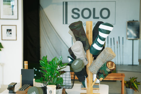 SOLO Golf Store Table