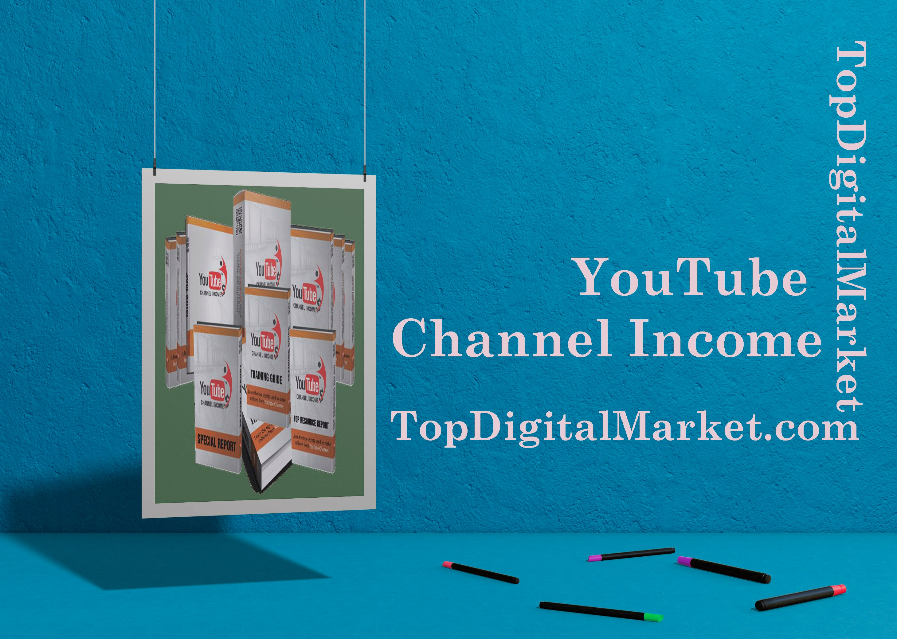 YouTube Channel Income PLR Videos