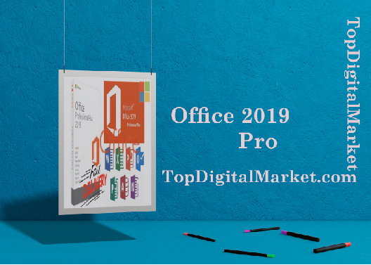 Microsoft Office 2019 Pro Plus Professional Key Lifetime License