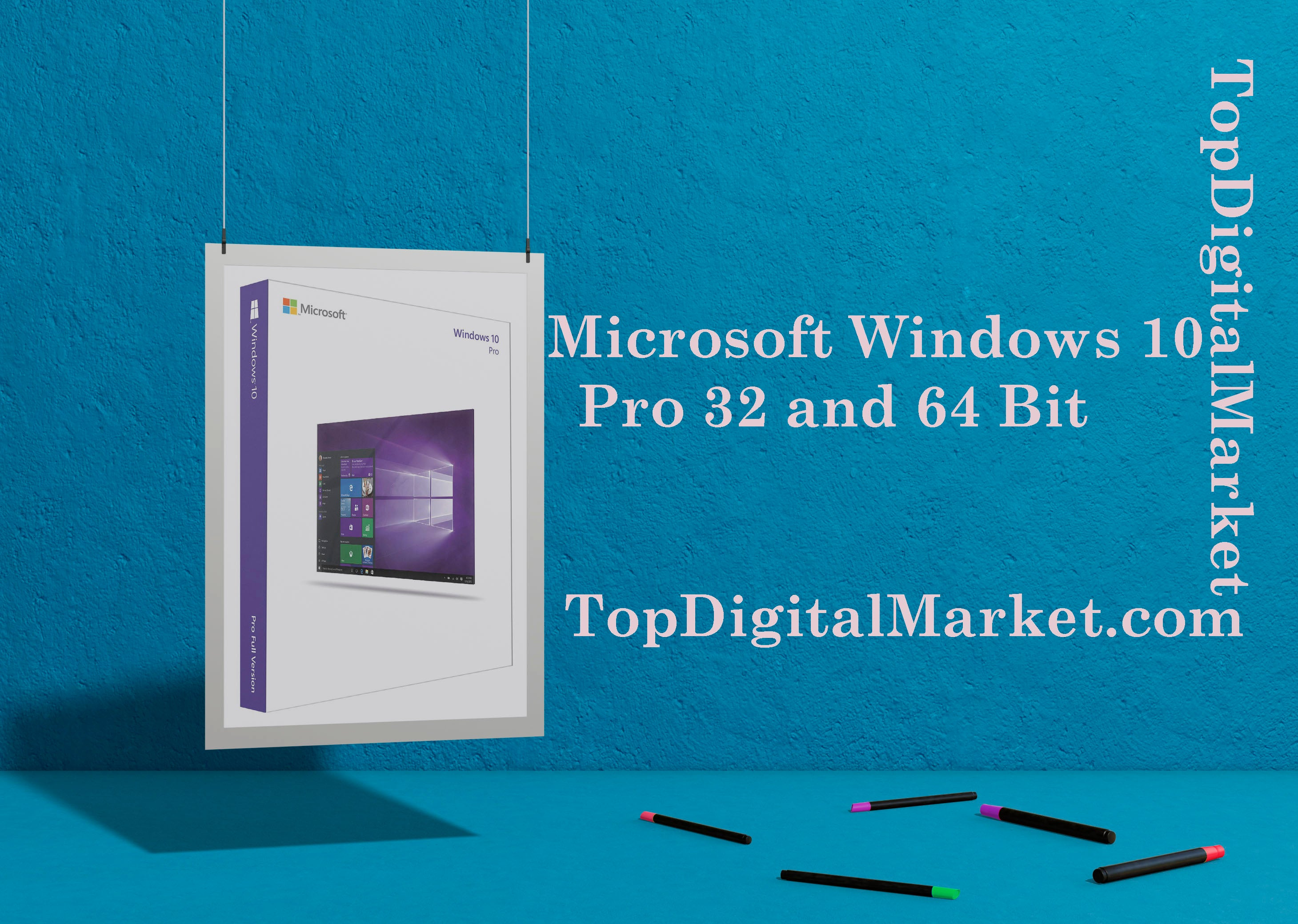 WINDOWS 10 PROFESSIONAL 32 & 64-bit Retail