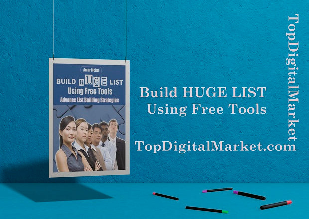 Build Huge Lists Using Free Tools