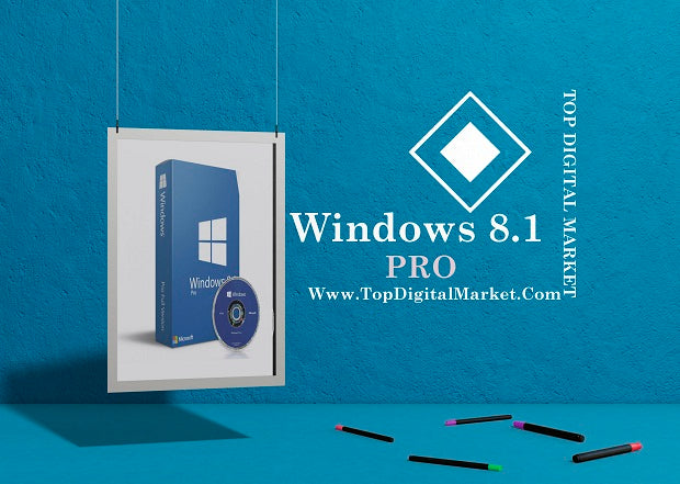 Windows 8.1 Pro 32 / 64 BIT License Key Product license key