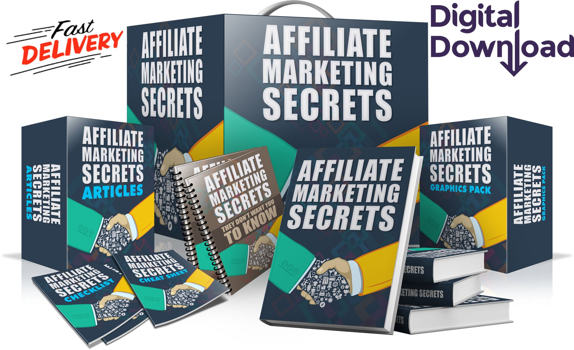 ALL ClICKBANK Secrets And  Strategies In One Mega Program - top digital market