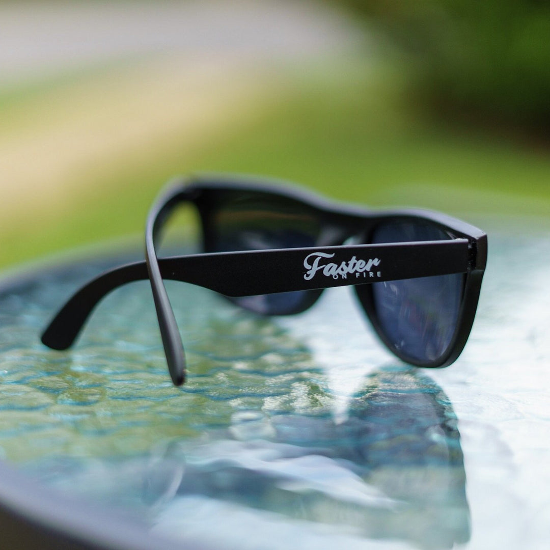 Faster on Fire Sunglasses