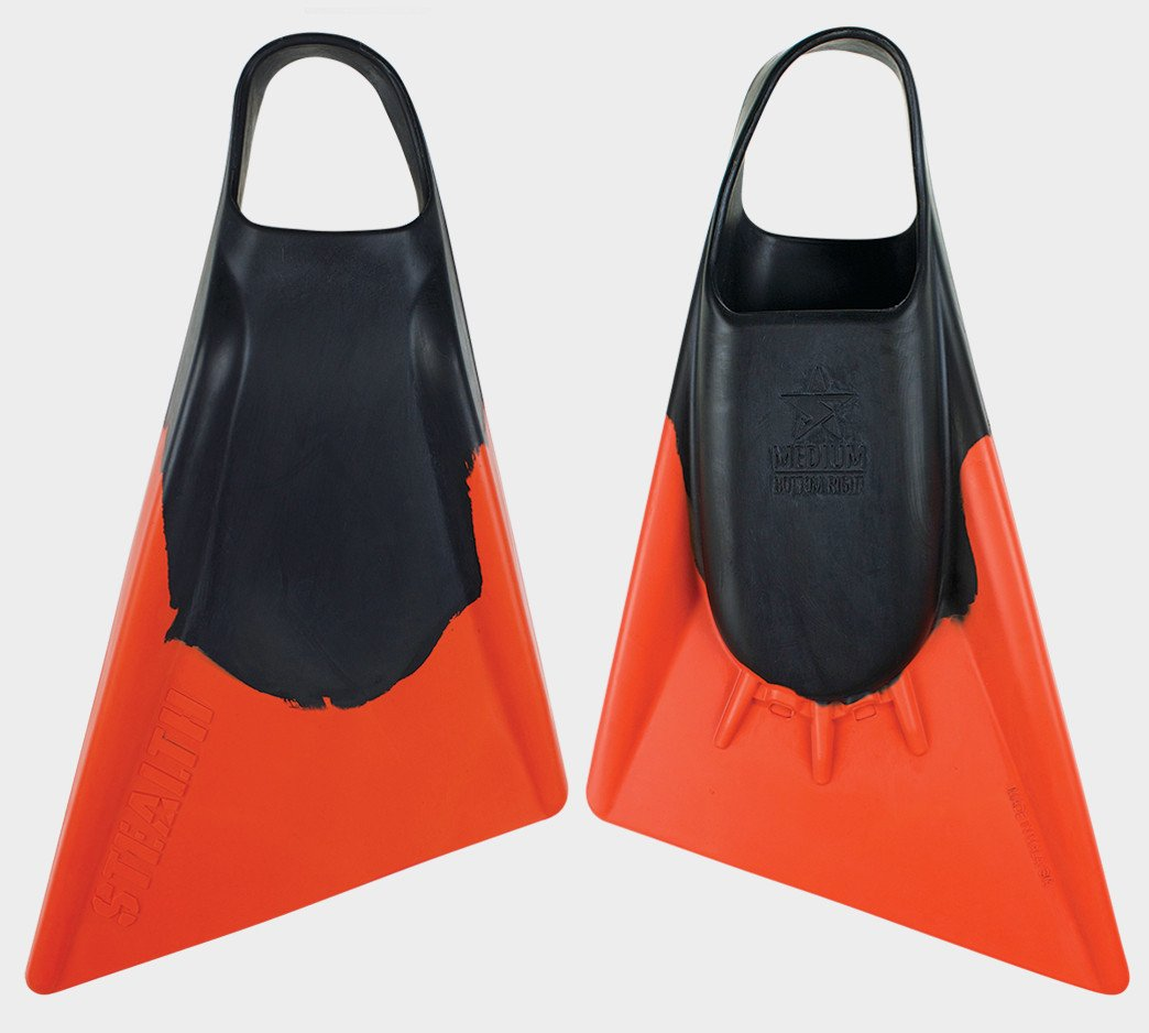 Stealth S2 Swimfin Black / Orange