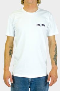 Stealth Fins Tee - White