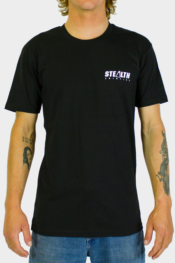 Stealth Swimfins Tee