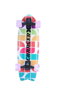 "Charger X – Rainbow 31″ und 28"" Surfskate"