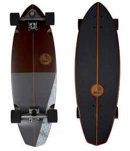 "Slide Surfskateboard Diamond 32"" Koa"