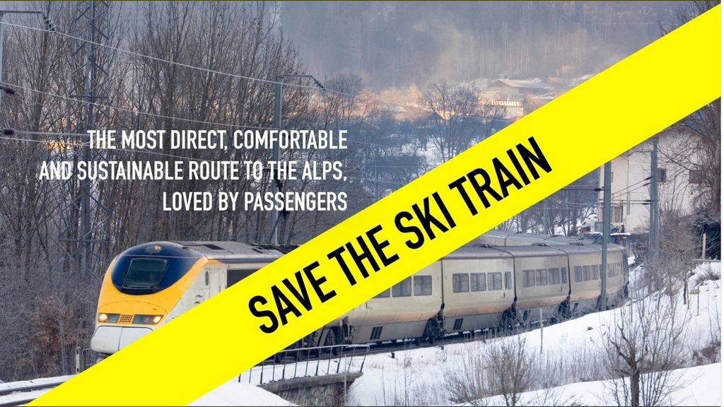 Help is needed to save the Ski Train, the most direct route from the UK the the French Alps