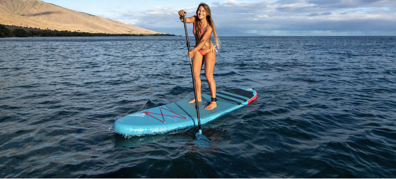 Coyoti stand up paddle boarding
