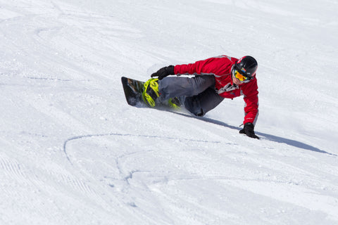 Toe side carve