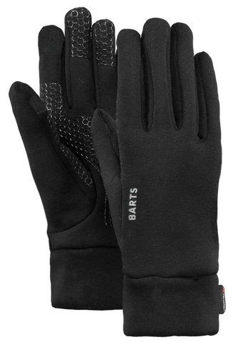 Barts Powerstretch Touch Gloves in Black