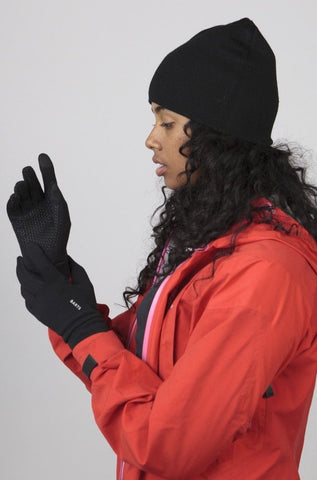 Barts Powerstretch Touch Gloves Black person