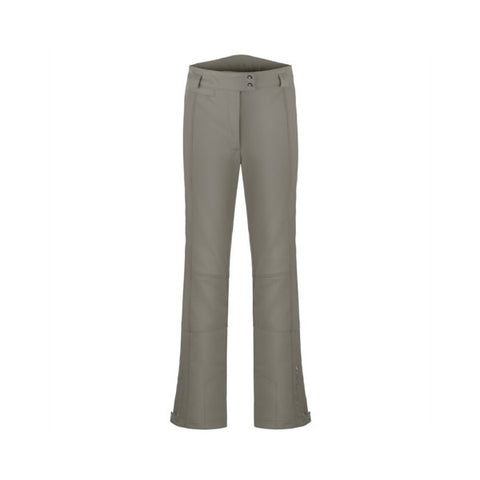 Poivre Blanc Ladies W18 0820 WO/A Stretch Pants Khaki Grey