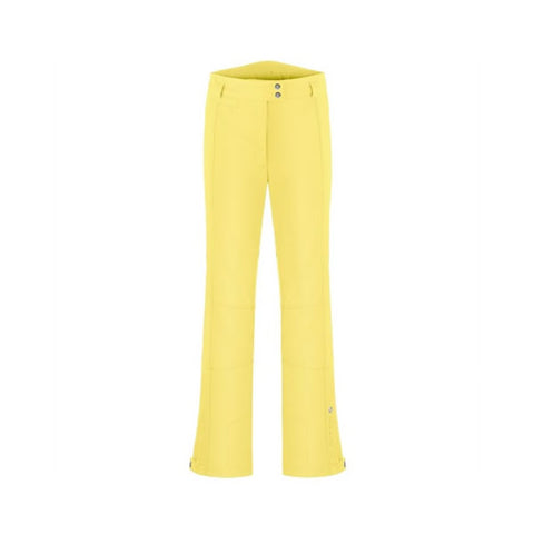 Poivre Blanc Ladies W18 0820 WO/A Stretch Pants Empire Yellow
