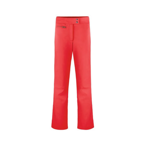Poivre Blanc Ladies W18 1120 WO Softshell Pants Scarlet Red