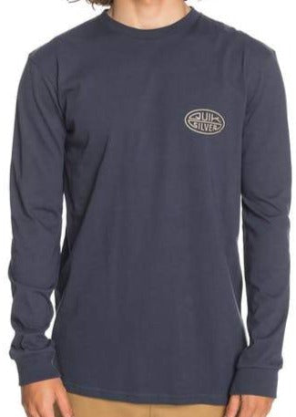 Quiksilver Far Behind Long Sleeve T-Shirt for Men in Parisian Night Style: EQYZT06069-BYPO