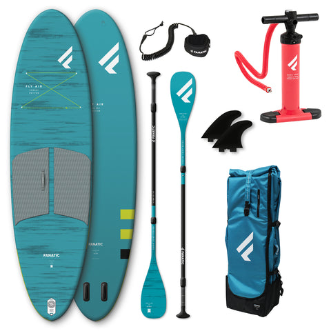 "Fanatic Fly Air Pocket 10'4"" Inflatable SUP SKU: 13200-1160"
