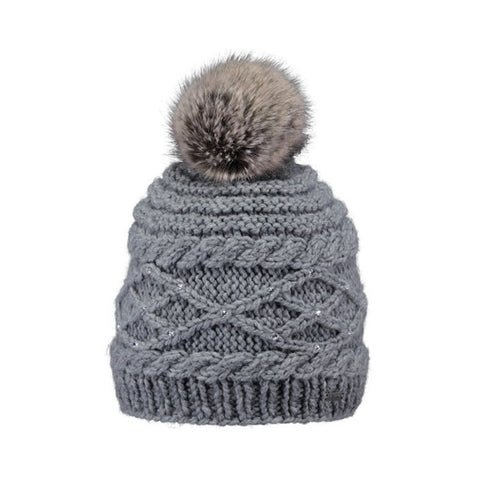 Barts Claire Beanie Heather Grey