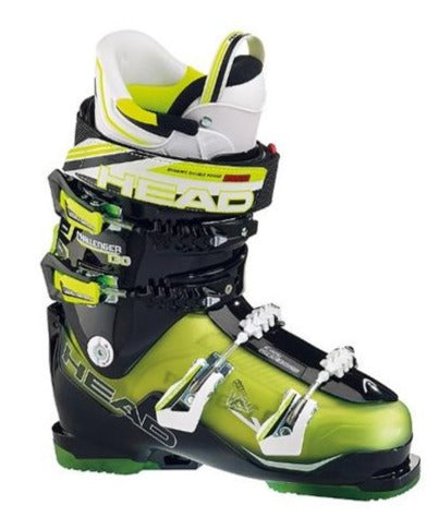 Head Challenger 130 Mens Ski Boots Yellow Black