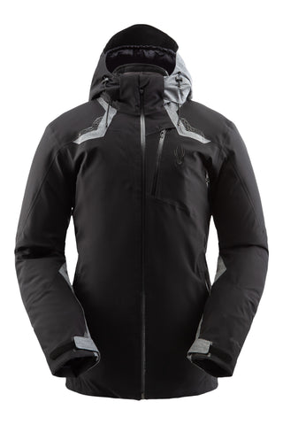 Spyder Leader GorTex Mens Ski Jacket in Black