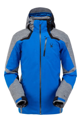 Spyder Leader GorTex Men's Ski Jacket in Blue Old Glory