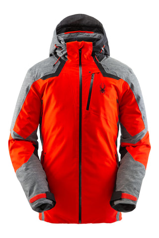Spyder Leader GTX Mens Ski Jackets in Volcano
