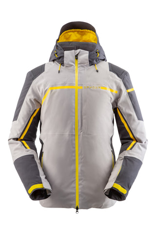 Spyder Titan GorTex Mens Ski Jacket in Alloy