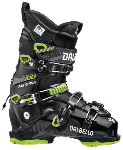 Dalbello Panterra 100 GW Men's Ski Boot in Black and Lime