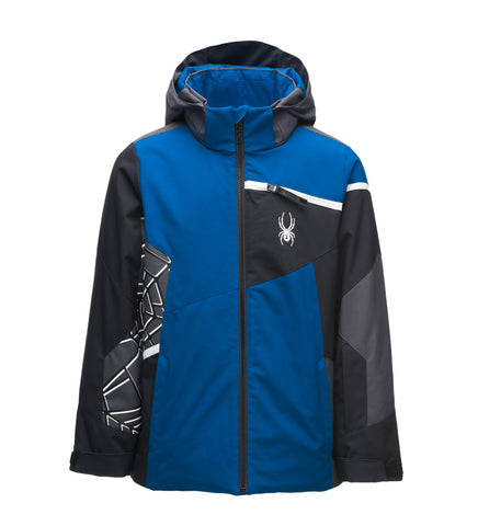 Spyder Boys Challenger Ski Jacket in old glory