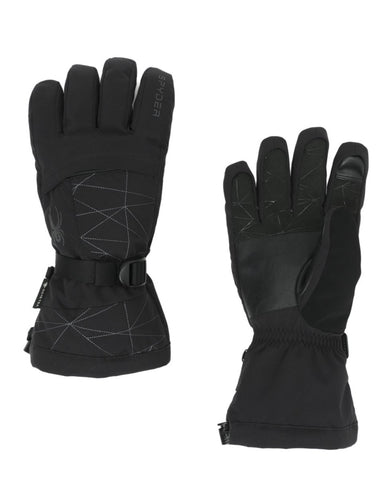 Spyder Overweb GTX Mens Ski Glove in Black