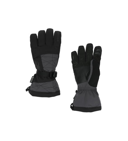 Spyder Overweb GorTex Mens Ski Glove in Ebony