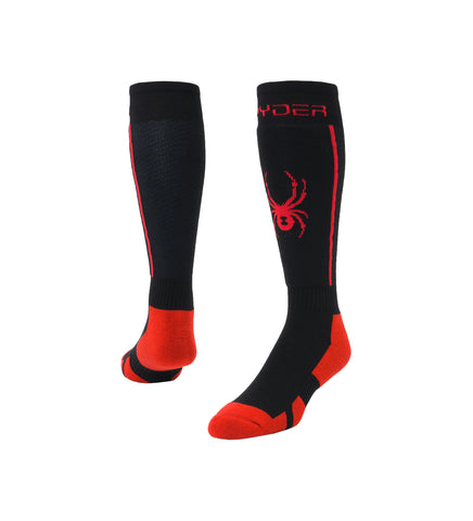 Spyder Sweep Mens Ski Sock in Black