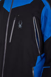 Spyder Leader GTX GoreTex Mens Ski Jacket in Black side shot