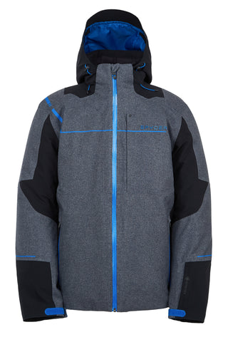 Spyder Titan GoreTex GTX LE Mens Ski Jacket in Novelty Ebony front