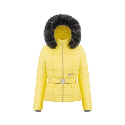 Poivre Blanc Ladies W18 1003 WO/A Ski Jacket Empire Yellow