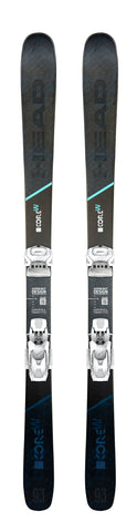 Head Kore 93 W ski with Attack² 12 bindings in 163cm