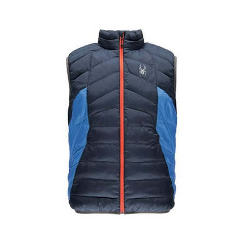 Spyder Geared Vest Synthetic Down Frontier/FBlue