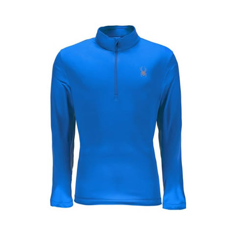 Spyder Limitless Mens 1/4 Zip Dry Web T-Neck French Blue