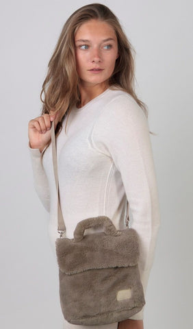 Barts Kara Mini Bag in Grey person