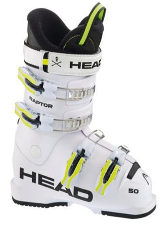 Head Raptor 50 Junior Ski Boots White