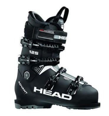 Head Advant Edge 125S Mens Ski Boot in Black