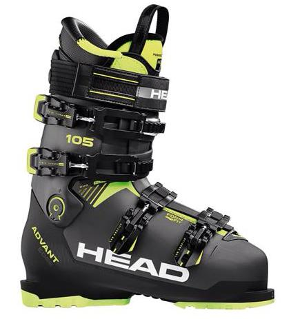 Head Advant Edge 105 Mens Ski Boot in Anthr.