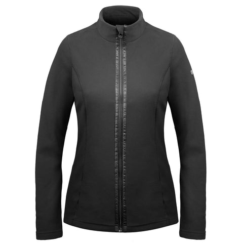 Poivre Blanc 1500-WO Fleece Jacket in Black