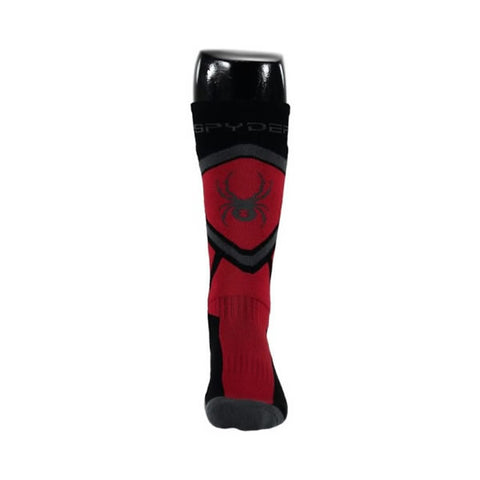 Spyder Venture Ski Socks Black/Red