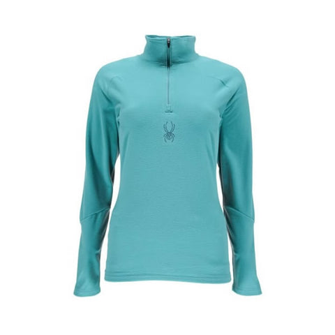 Spyder Ladies Shimmer T-Neck Baltic